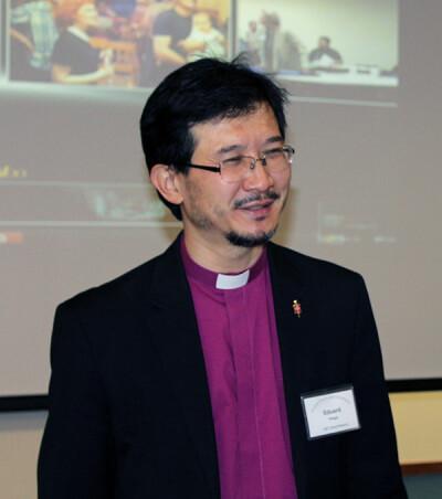 Bishop Eduard Khegay of the Eurasia-Central Asia Episcopal Area