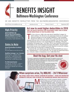 Benefits Insight Newsletter - Sept 2017