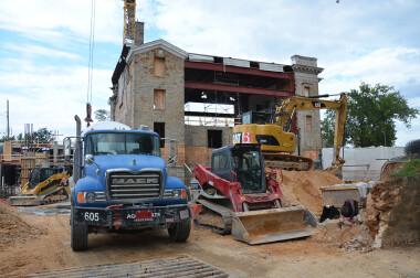 Emory Fellowship Beacon Center under construction