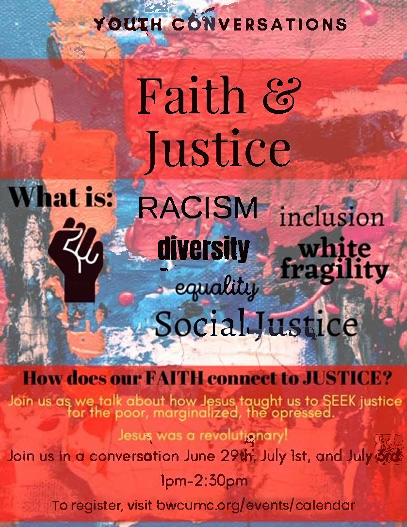 Youth Conversations: Faith & Justice, Day 2